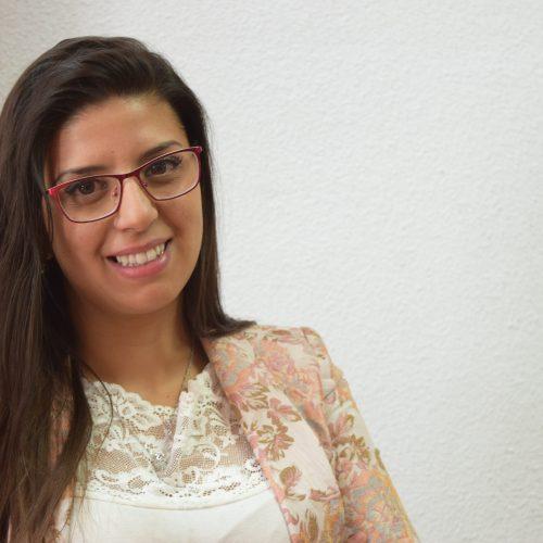Selene Coral Jiménez. Universitaria