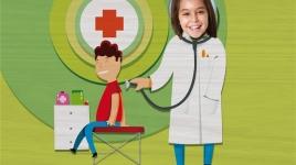 """Cartel: """"Doctora"""" De mayor quiero ser…"""