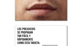 """Flyer: """"""""Tus prejuicios son las voces de otros"""""""