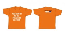 """Merchandising: """"Camisetas"""" Tus prejuicios son las voces de otros"""
